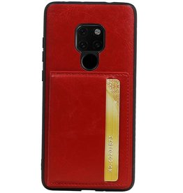 Standing Back Cover 1 Passes für Huawei Mate 20 Red