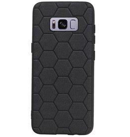 Hexagon Hard Case für Samsung Galaxy S8 Schwarz