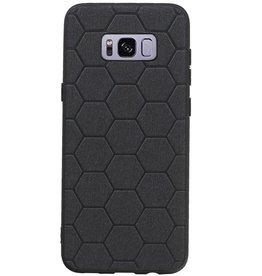 Hexagon Hard Case für Samsung Galaxy S8 Plus Schwarz