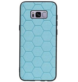 Hexagon Hard Case voor Samsung Galaxy S8 Plus Blauw