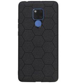 Hexagon Hard Case für Huawei Mate 20 X Schwarz