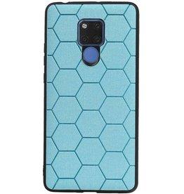 Hexagon Hard Case for Huawei Mate 20 X Blue