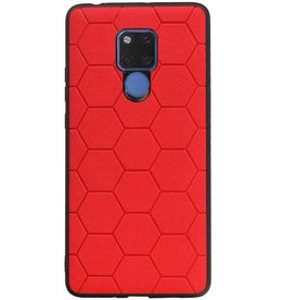 Hexagon Hard Case für Huawei Mate 20 X Rot