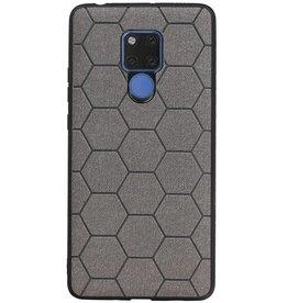 Hexagon Hard Case für Huawei Mate 20 X Grau