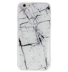 Hardcase für iPhone 6 Marmorweiß drucken