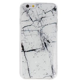 Print Hardcase for iPhone 6 Marble White