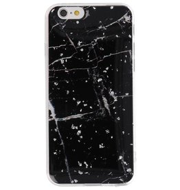 Print Hardcase for iPhone 6 Marble Black