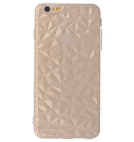 Transparant Geometric Style Siliconen Hoesjes voor iPhone 6p