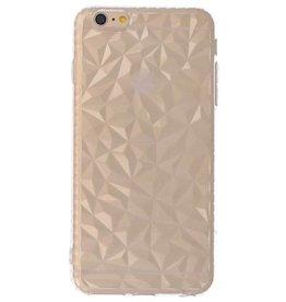 Transparente geometrische Silikonkoffer für iPhone 6p