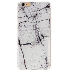Hardcase für iPhone 6 Plus Marmorweiß drucken