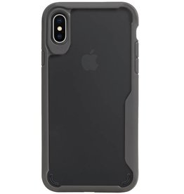 Focus Transparent Hard Cases for iPhone X / XS Gray