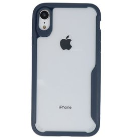Focus Transparent Hard Cases for iPhone XR Navy