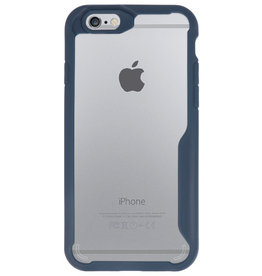 Focus Transparant Hard Cases voor iPhone 6 Navy