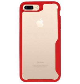 Focus Transparent Hard Cases for iPhone 7/8 Plus Red