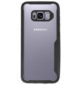 Focus Transparant Hard Cases voor Samsung Galaxy S8 Zwart