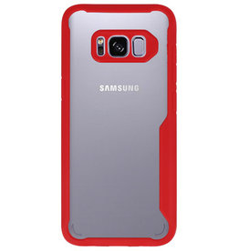 Focus Transparent Hard Cases for Samsung Galaxy S8 Red