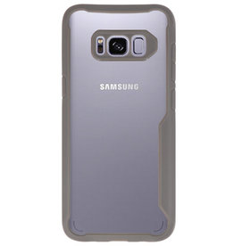 Focus Transparant Hard Cases voor Samsung Galaxy S8 Grijs