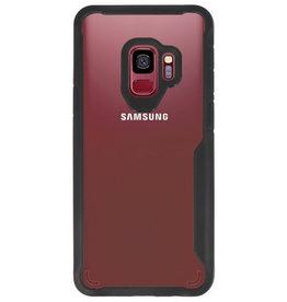 Focus Transparant Hard Cases voor Samsung Galaxy S9 Zwart