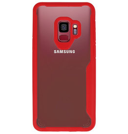 Focus Transparent Hard Cases for Samsung Galaxy S9 Red