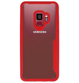 Focus Transparent Hard Cases für Samsung Galaxy S9 Rot
