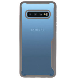 Focus Transparent Hard Cases for Samsung Galaxy S10 Gray