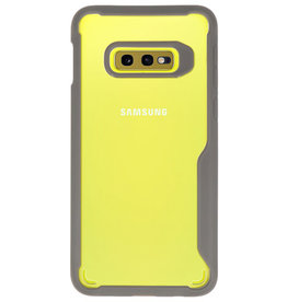 Focus Transparent Hard Cases for Samsung Galaxy S10e Gray