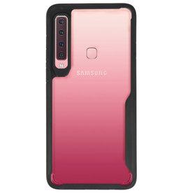 Focus Transparant Hard Cases voor Samsung Galaxy A9 2018 Zwart