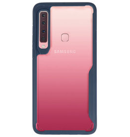 Focus Transparant Hard Cases voor Samsung Galaxy A9 2018 Navy