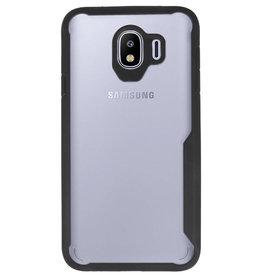 Focus Transparant Hard Cases voor Samsung Galaxy J4 Zwart