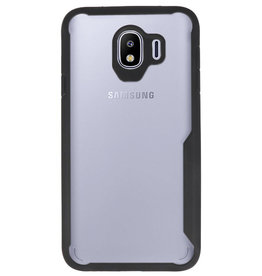 Focus Transparent Hard Cases for Samsung Galaxy J4 Black