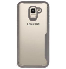 Focus Transparent Hard Cases for Samsung Galaxy J6 Gray