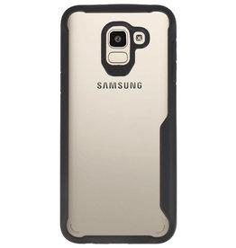 Focus Transparent Hard Cases für Samsung Galaxy J6 Schwarz