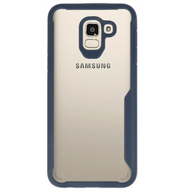 Focus Transparant Hard Cases voor Samsung Galaxy J6 Navy