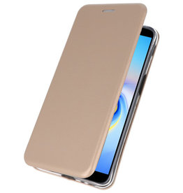 Slim Folio Case voor Samsung Galaxy J6 Plus Goud
