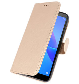 Bookstyle Wallet Cases Case for Huawei Y5 Lite 2018 Gold