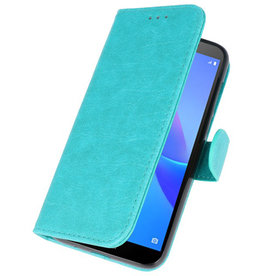 Bookstyle Wallet Cases Case for Huawei Y5 Lite 2018 Green