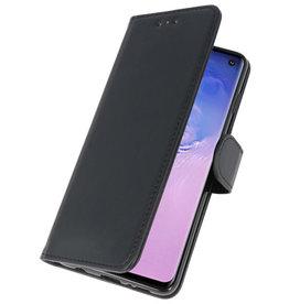 Bookstyle Wallet Cases Hoesje voor Samsung S10 Zwart