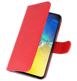 Bookstyle Wallet Cases Case for Samsung S10e Red