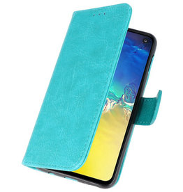 Bookstyle Wallet Cases Case for Samsung S10e Green