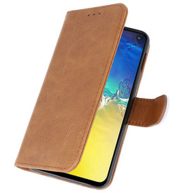 Bookstyle Wallet Cases Case for Samsung S10e Brown