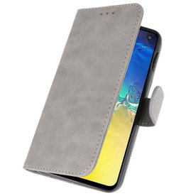 Bookstyle Wallet Cases Case for Samsung S10e Gray