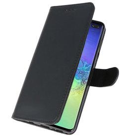 Bookstyle Wallet Cases Hoesje voor Samsung S10 Plus Zwart