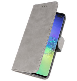 Bookstyle Wallet Cases Case for Samsung S10 Plus Gray