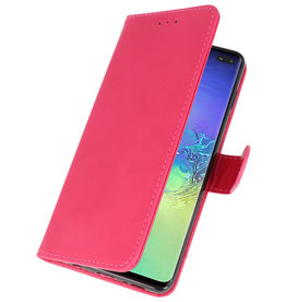 Bookstyle Wallet Cases Case for Samsung S10 Plus Pink