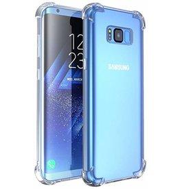 Schokbestendig transparant TPU hoesje voor Galaxy S8 met verpakking