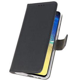 Wallet Cases Hülle für Samsung Galaxy S10e Schwarz