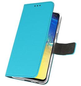 Wallet Cases Hülle für Samsung Galaxy S10e Blue