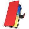 Wallet Cases Hülle für Samsung Galaxy S10e Red
