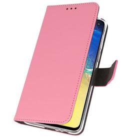 Wallet Cases Hülle für Samsung Galaxy S10e Pink
