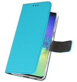 Wallet Cases Case for Samsung Galaxy S10 Plus Blue